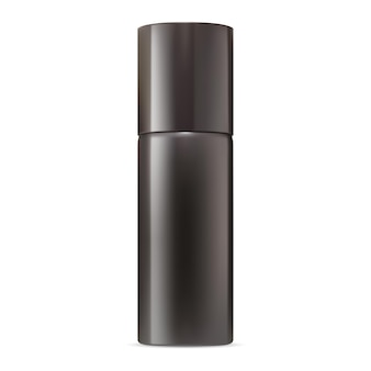 Deo-spray-modell aluminium-aerosolflasche leer metall-lufterfrischer-behälter realistisch