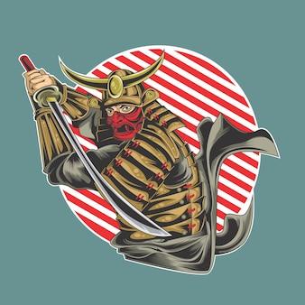 Der beste samurai-kämpfer