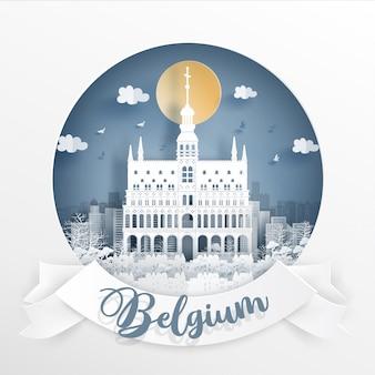 Der grand place, brüssel. belgien