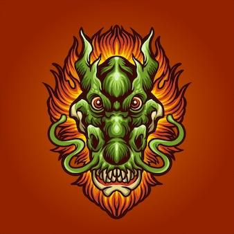 Der grüne drache