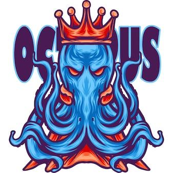 Der könig des oktopus