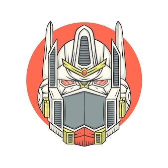 Der leader starke roboter der welt