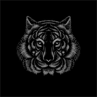 Der logo-tiger