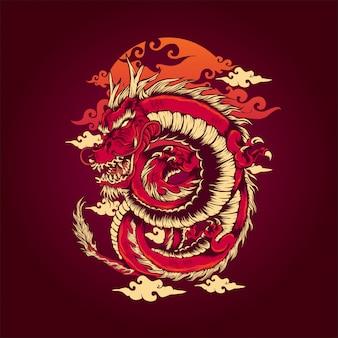 Der rote drache