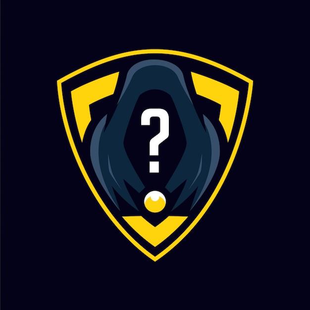Der unbekannte mysteriöse logo-sport