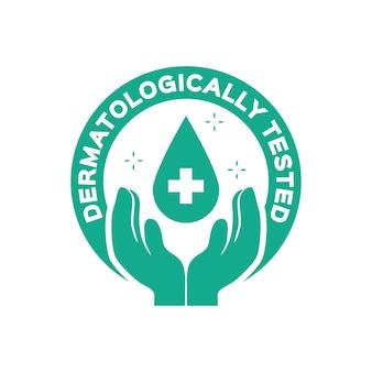 Dermatologisch getestetes thema