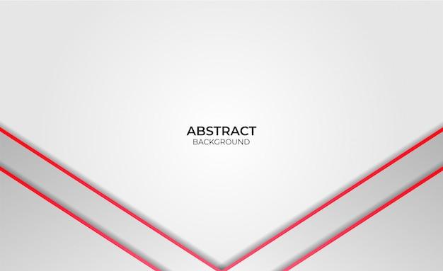 Design abstract rot und weiß