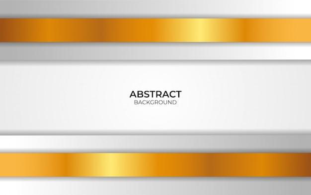 Design abstract weiß und gold
