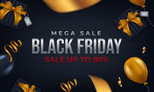 Design black friday mega sale bis zu 80%
