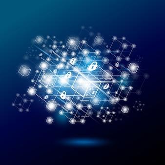 Design der blockchain-technologie