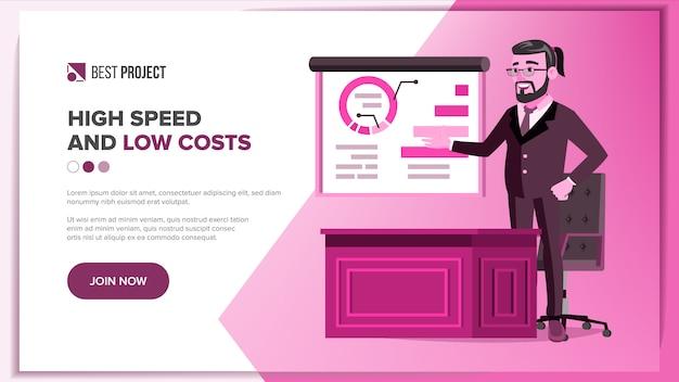 Design der hauptwebseite