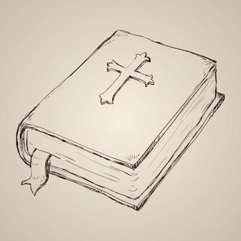 Design der heiligen bibel.