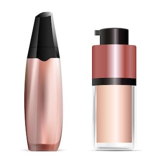 Design der kosmetischen concealer-flasche