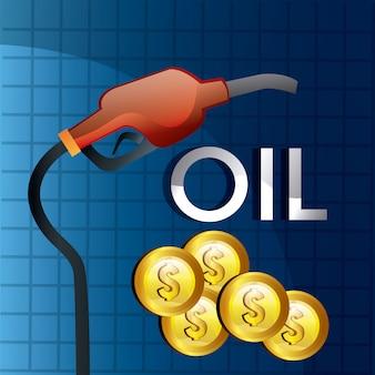 Design der kraftstoffpreise