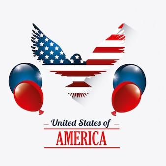 Design der vereinigten staaten.