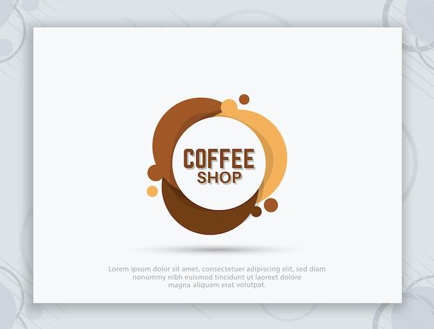 Design des coffeeshop-logos