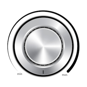 Design des lautstärkereglers