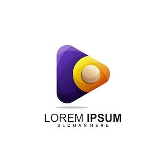 Design des musikmedien-logos