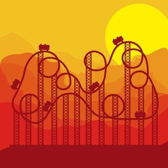 Design eines themenparks