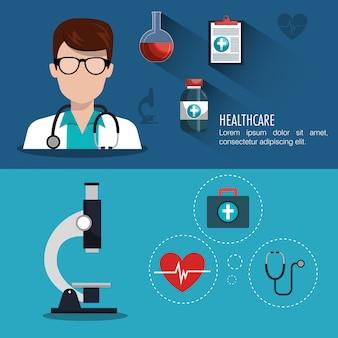 Design für medizinische versorgung