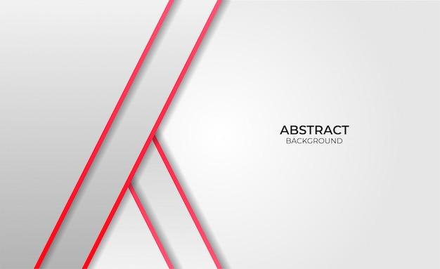 Design hintergrund abstrakt rot und weiß