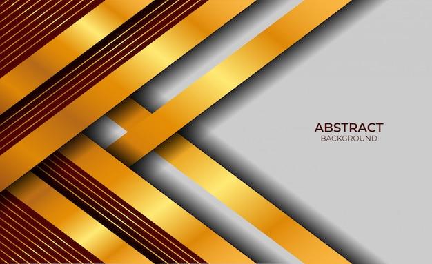 Design luxus rot und gold stil