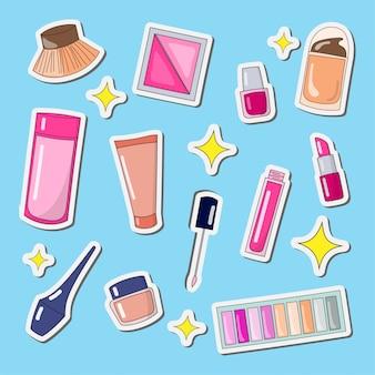 Design make-up-tools und make-up für frauen