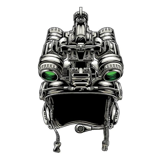 Design taktischer helm militär und nvg