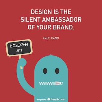 Design-und branding-vektor-poster