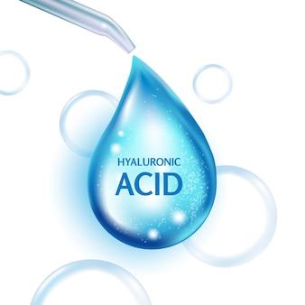 Design von hyaluronsäure oder abstrakten molekülen