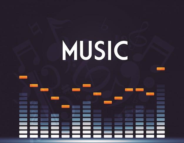 Design von musikelementen
