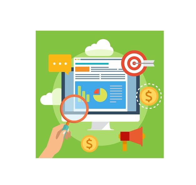 Design von web analytics und software system