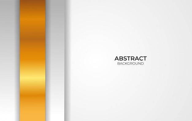 Design weiß und gold abstrakten hintergrund