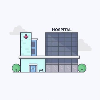 Design-wohnung blue hospital center