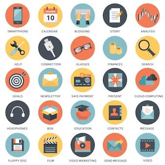 Designelemente für mobil- und webanwendungen