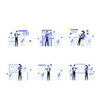 Designer recherchieren, erstellen und präsentieren websites und app-szenen