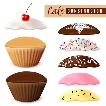 Designeroptionen für muffins