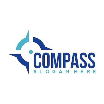 Designvorlage für das kompass-logo