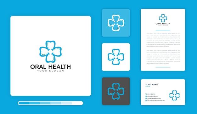 Designvorlage für das mundgesundheitslogo