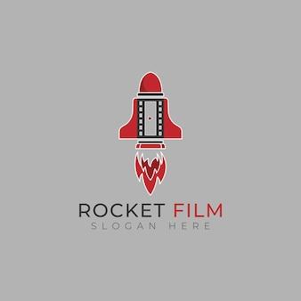 Designvorlage für das rocket-film-logo