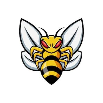 Designvorlage für das wespenlogo