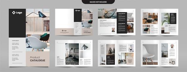 Designvorlage für firmenproduktkataloge