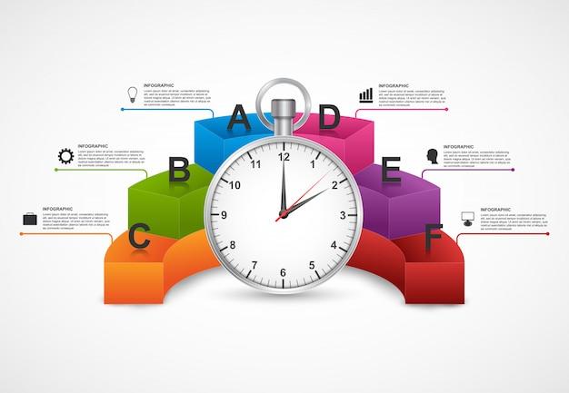Designvorlage für infografiken.