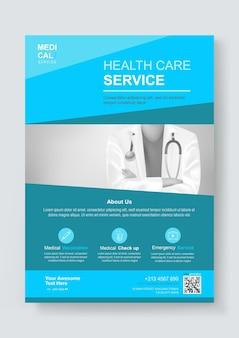 Designvorlage für medizinische gesundheitsdienste