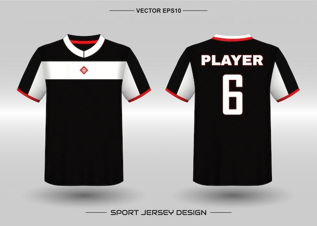 Designvorlage für sporttrikots für teamuniformen