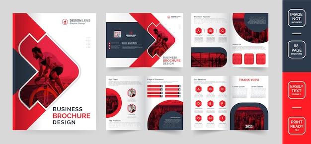 Designvorlage für unternehmensbroschüren