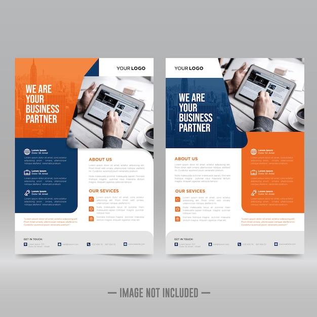Designvorlage für unternehmensplakate