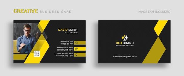 Designvorlage für visitenkarten