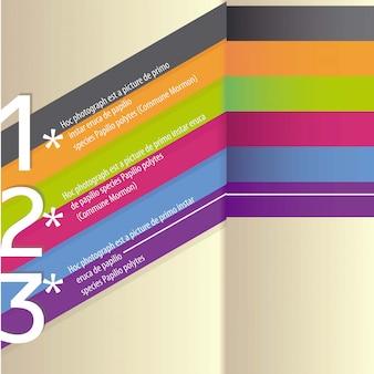 Designvorlage geeignet für alle arten von werbung und für infografiken
