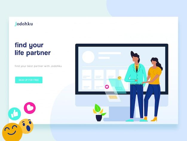 Designvorlagen für webseiten für social media